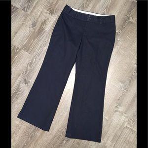 Banana Republic pants- Sz 12.  Jackson fit/ Navy